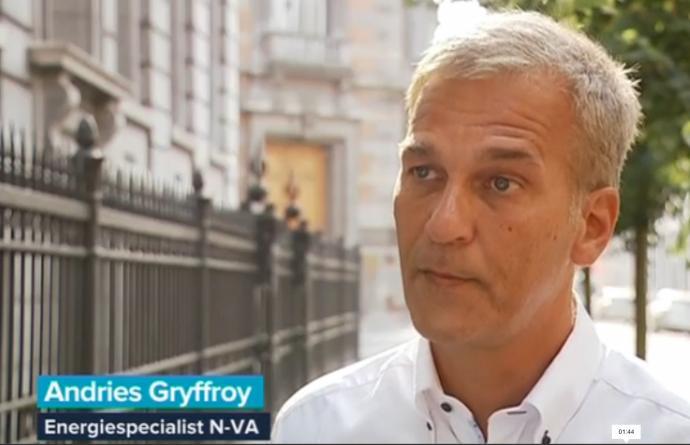 VRT Journaal 26 augustus 2016 Kernuitstap Andries Gryffroy