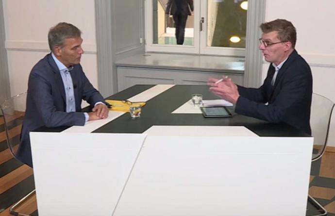 Actua TV Studio Parlement Andries Gryffroy energiefraude