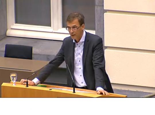 Andries Gryffroy Vlaams Parlement energie budgetbesprekingen